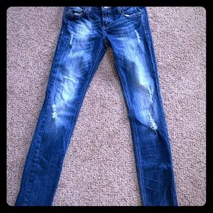 Vigoss jeans Dublin skinny junior 5/6 inseam 31